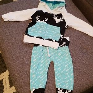Other - 6 to 12 months Deer 2 piece outfit